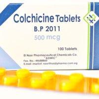 Колхицин при терапии заболевания Пейрони
